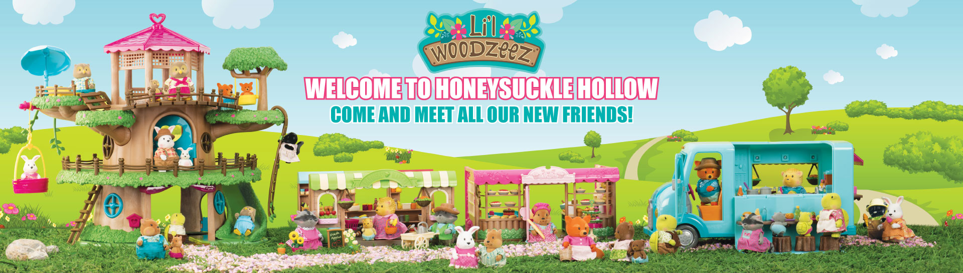 Welcome to Honeysuckle Hollow!