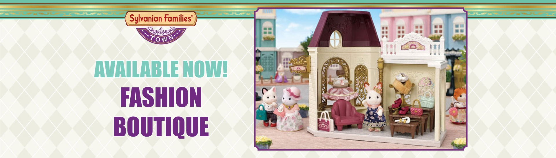 NEW! Fashion Boutique available now!