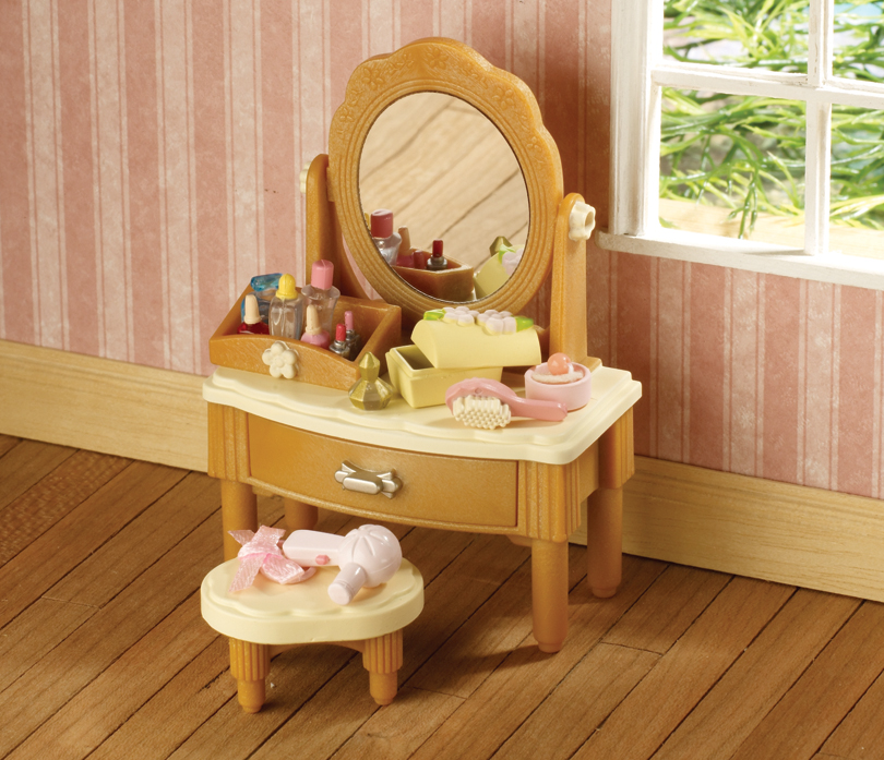 Buy Girl S Dressing Table Brown Online Sylvanian Families