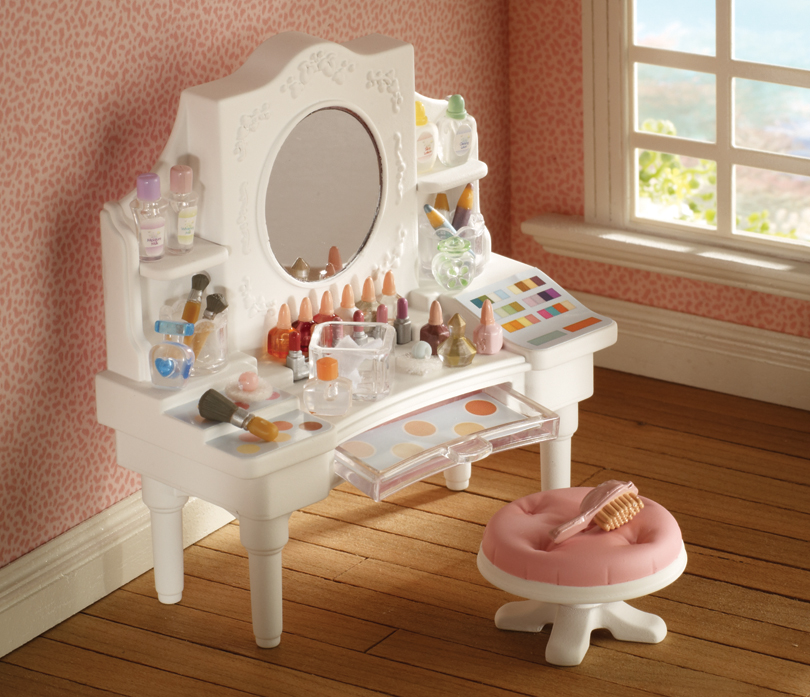 Buy Girl S Dressing Table White Online Sylvanian Families
