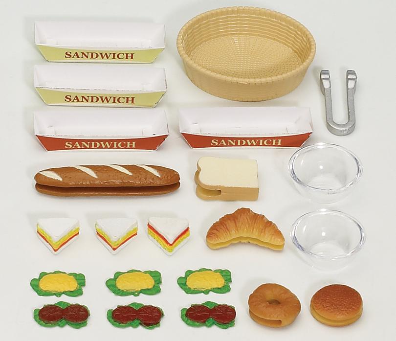 Buy scrumptious sandwiches online sylvanian families for Sylvanian families cuisine