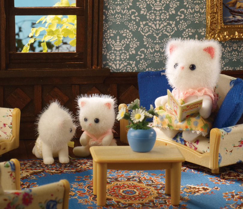Buy Persis Persian Cat Twins Online Sylvanian Families