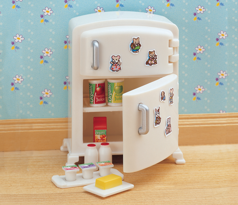 Buy white fridge accessories online sylvanian families - Sylvanian families cuisine ...