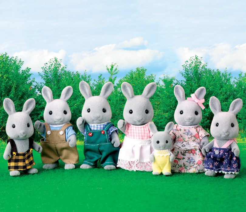 the rabbit family Then the weird rabbit who nobody knew where he came from got an idea,but he said he would only afterwards they had tea with the cat family before putting the ornaments up maybe they shouldn't.