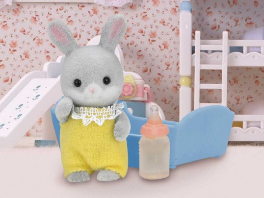 Cottontail Rabbit Baby [yellow]