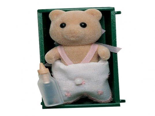 Vintage Honeybear Baby Girl (*)