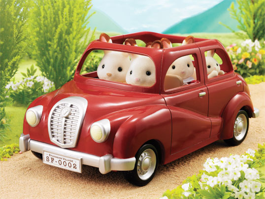 Buy Sf Family Saloon Car Online Sylvanian Families