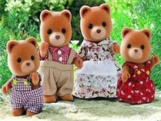 Porridge Bear Family (*)