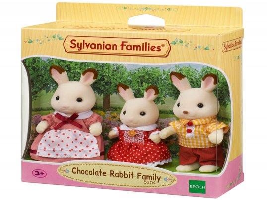 Chocolate Rabbit Family [3] (*)