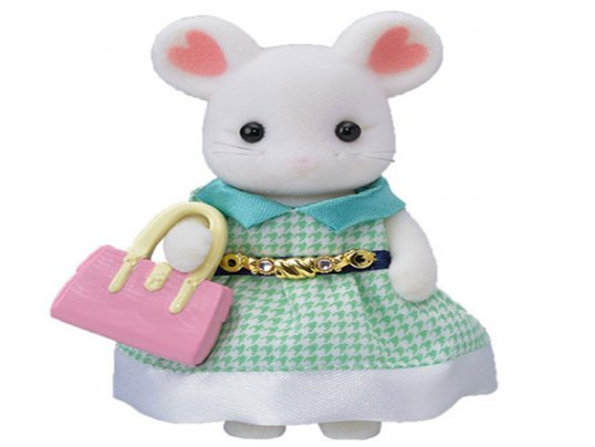 Town Girl - Marshmallow Mouse