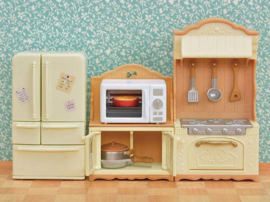 Sylvania Family Furniture Cupboard //Oven Range Set