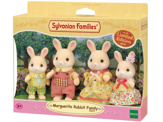 Sylvanian Families Marguerite Rabbit Family Limited Edition