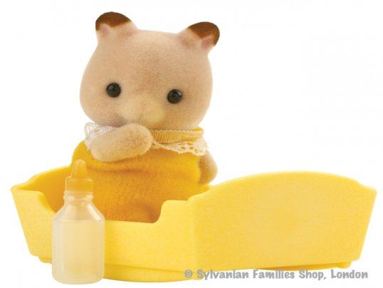 Goldbacke Hamster Baby