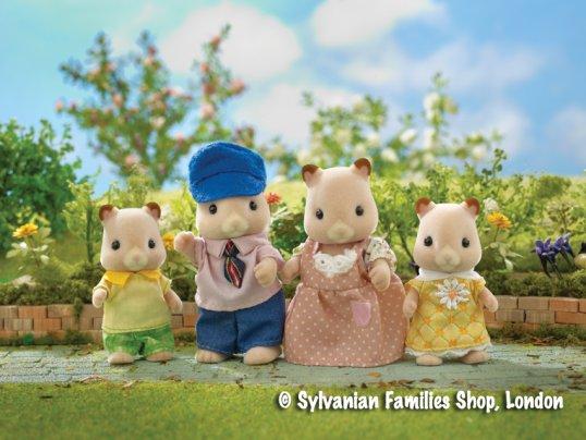 Goldbacke Hamster Family