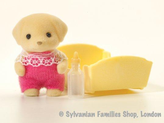 Fenton Yellow Labrador Baby