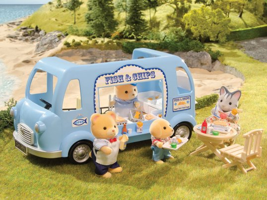 Fish & Chips Van