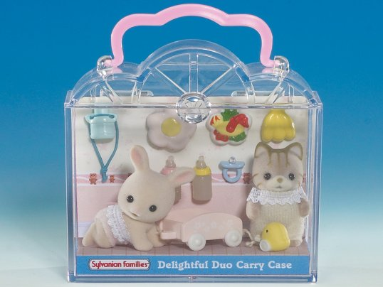 Duo Baby Carry Case -Picnic (*)