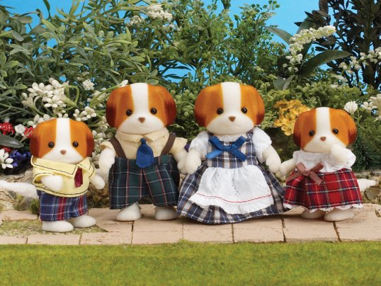 Doughty Chiffon Dog Family [UK]