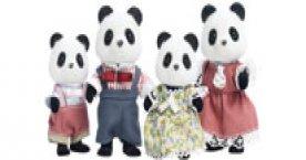 Bamboo Panda Family