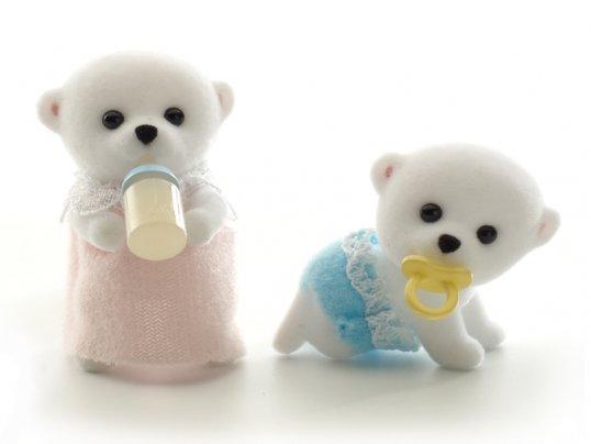 Beaufort Polar Bear Twins (*)
