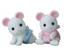 Hawthorn White Mouse Twins [E]