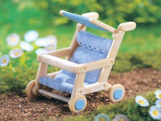 Baby Blue Pushchair