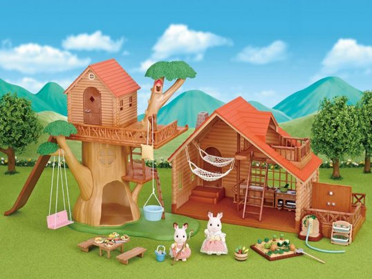 TREEHOUSE & LOG CABIN GIFT SET
