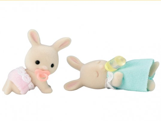 Periwinkle Rabbit Twins (*)