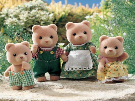 Petite Bear Family (*)