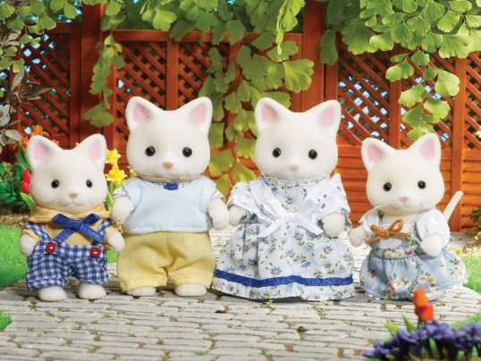 Golightly Silk Cat Family