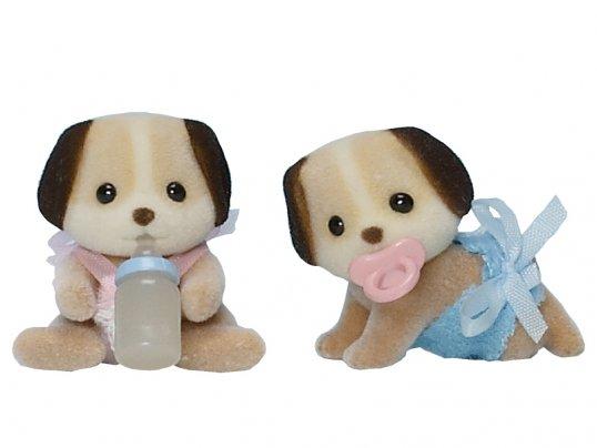 Beagle Dog Twin Babies (*)