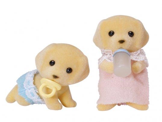 Barker Labrador Twin Babies