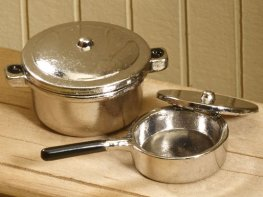 [DB] Metal Cooking Pots [pair]