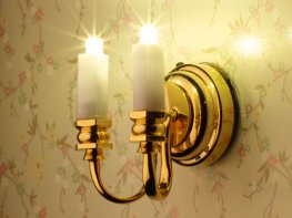 [DB] Candle Wall Light [Double]