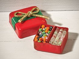 [DB] Christmas Bead Box - Red