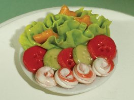 [DB] Salad with King Prawns