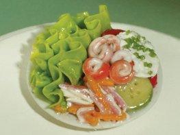 [DB] Salad with Prawns