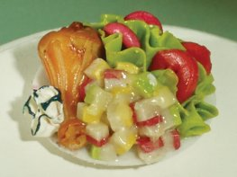 [DB] Salad with Chicken & Vegetables