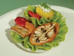 [DB] Salad with Grilled Chicken