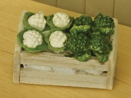 [DB] Crate of Cauliflower & Broccoli