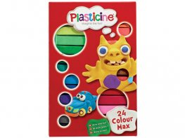 [PL] Plasticine 24 Colour Max