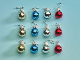 [DB] Christmas Tree Baubles - Glass