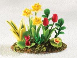 [DB] Flowerbed - Daffodil & Tulip