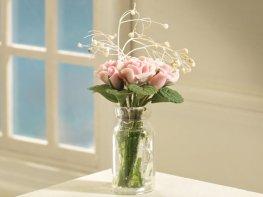 [DB] Vase of Pink Roses