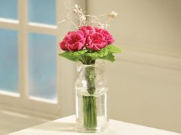[DB] Vase of Pink Peonies