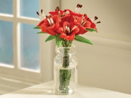 [DB] Vase of Red Lilies