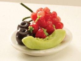 [DB] Fruit Plate - Melon & Grapes