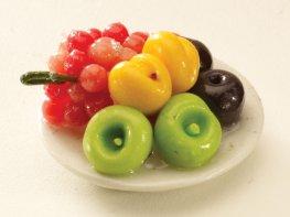[DB] Fruit Plate - Apricots & Grapes