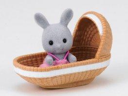 [SF] Babblebrook Rabbit Baby with Crib (*)
