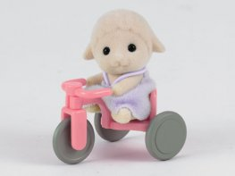 [SF] Dingle Sheep Baby with Tricycle (*)